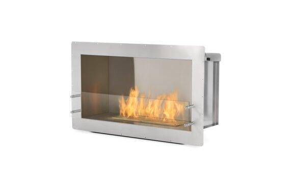 Firebox 1000SS Single Sided Fireplace - Ethanol / Stainless Steel by EcoSmart Fire