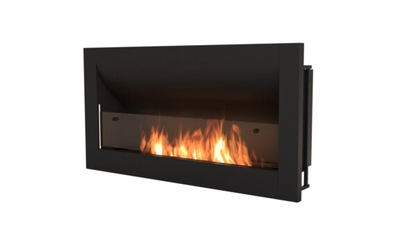 Firebox 1400CV Curved Fireplace - Ethanol / Black by EcoSmart Fire