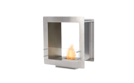 Firebox 650DB Double Sided Fireplace - Ethanol / Stainless Steel by EcoSmart Fire