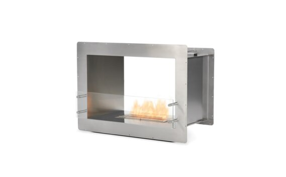 Firebox 800DB Double Sided Fireplace - Ethanol / Stainless Steel by EcoSmart Fire