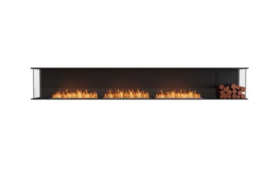 Flex 140 - Ethanol / Black / Installed View by EcoSmart Fire