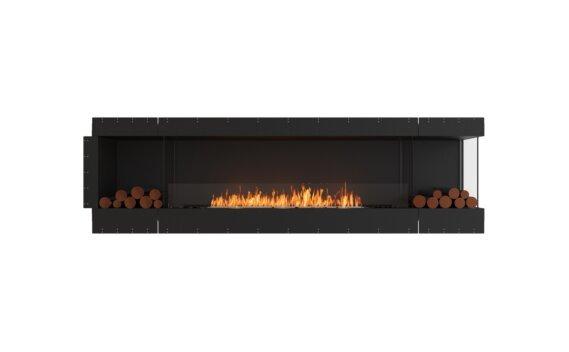 Flex 104RC.BX2 Right Corner - Ethanol / Black / Uninstalled View by EcoSmart Fire