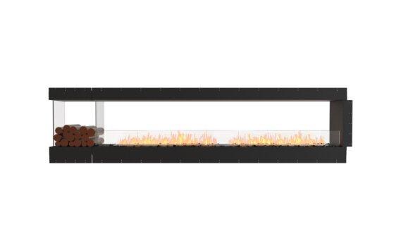 Flex 122PN.BXL Peninsula - Ethanol / Black / Uninstalled View by EcoSmart Fire