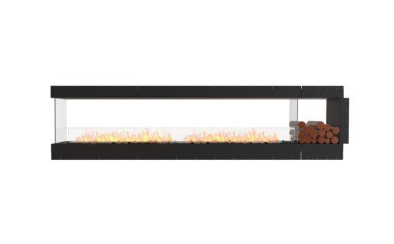 Flex 122PN.BXR Peninsula - Ethanol / Black / Uninstalled View by EcoSmart Fire