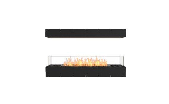 Flex 50IL Island - Ethanol / Black / Uninstalled View by EcoSmart Fire