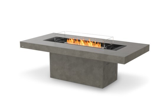 Gin 90 (Dining) Fire Table - Ethanol / Natural / Optional Fire Screen by EcoSmart Fire