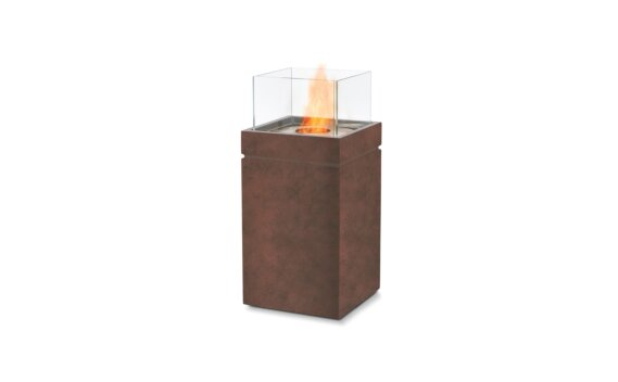 Tower Fire Pit - Ethanol / Rust by EcoSmart Fire