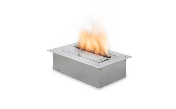 XS340 Ethanol Burner - Ethanol / Stainless Steel / Top Tray Included by EcoSmart Fire