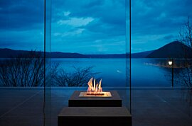 BK5 Modern Fireplace - In-Situ Image by EcoSmart Fire
