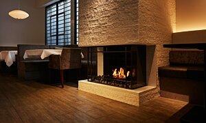 Scope 340 Fireplace Insert - In-Situ Image by EcoSmart Fire