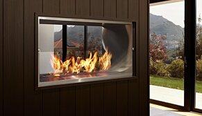 Firebox 1000DB Fireplace Insert - In-Situ Image by EcoSmart Fire