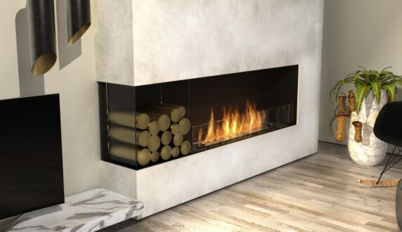 Living Room - Flex 50LC Flex Fireplace by EcoSmart Fire