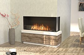 Flex 50RC Flex Fireplace - In-Situ Image by EcoSmart Fire