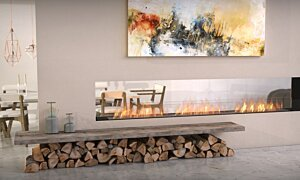 Flex 122DB Double Sided - In-Situ Image by EcoSmart Fire