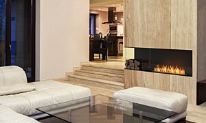 Flex 68LC.BXL Left Corner - In-Situ Image by EcoSmart Fire
