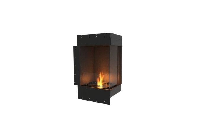 Flex 18RC Right Corner - Ethanol / Black / Uninstalled View by EcoSmart Fire