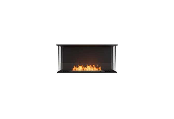 Flex 42 - Ethanol / Black / Installed View by EcoSmart Fire