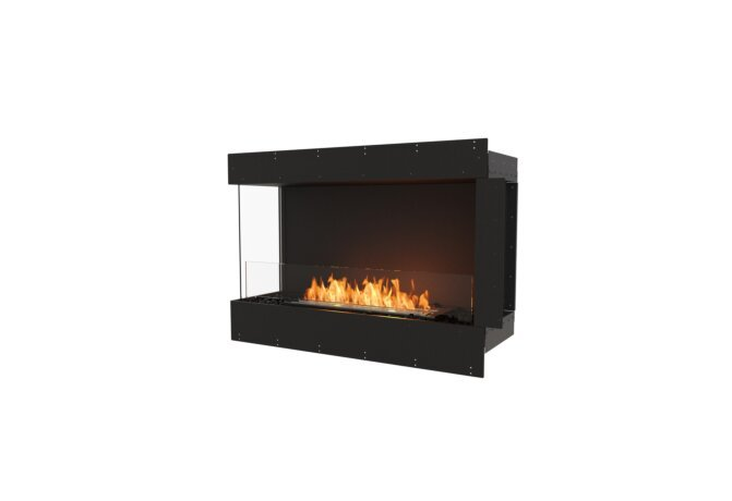 Flex 42LC Left Corner - Ethanol / Black / Uninstalled View by EcoSmart Fire