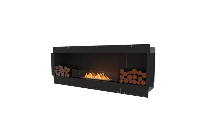Flex 78SS.BX2 Single Sided - Ethanol / Black / Uninstalled View by EcoSmart Fire