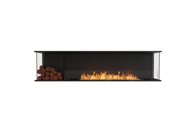 Flex 86 - Ethanol / Black / Installed View by EcoSmart Fire