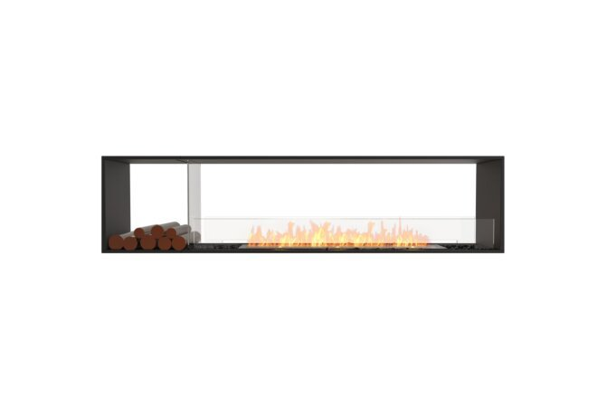 Flex 86DB.BX1 Double Sided - Ethanol / Black / Installed View by EcoSmart Fire