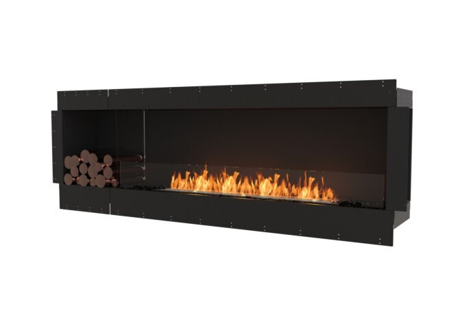 Flex 86SS.BXL Single Sided - Ethanol / Black / Uninstalled View by EcoSmart Fire