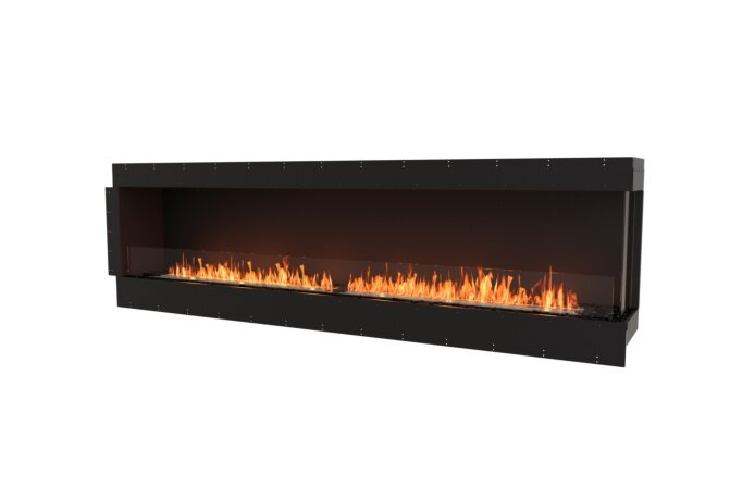 Flex 104RC Right Corner - Ethanol / Black / Uninstalled View by EcoSmart Fire