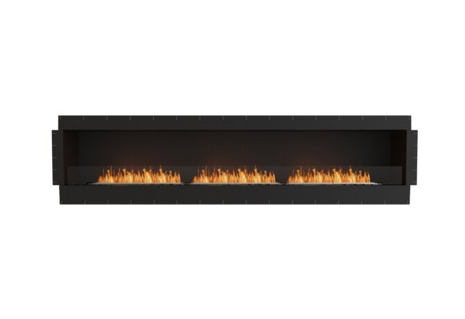Flex 122SS Single Sided - Ethanol / Black / Uninstalled View by EcoSmart Fire