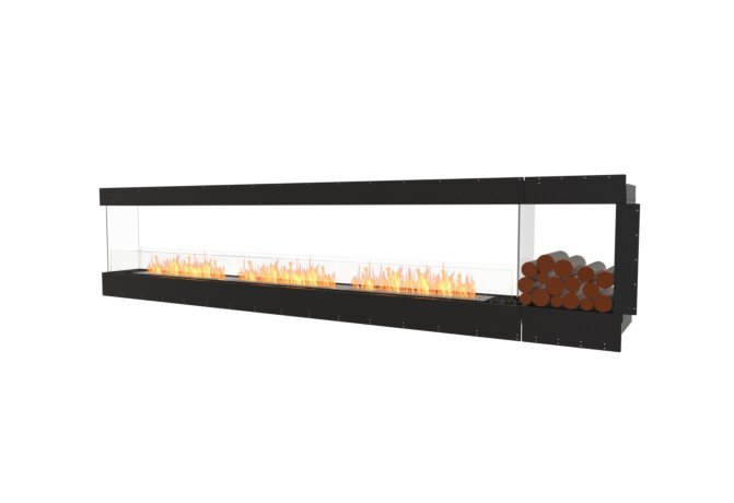 Flex 140PN.BXR Peninsula - Ethanol / Black / Uninstalled View by EcoSmart Fire