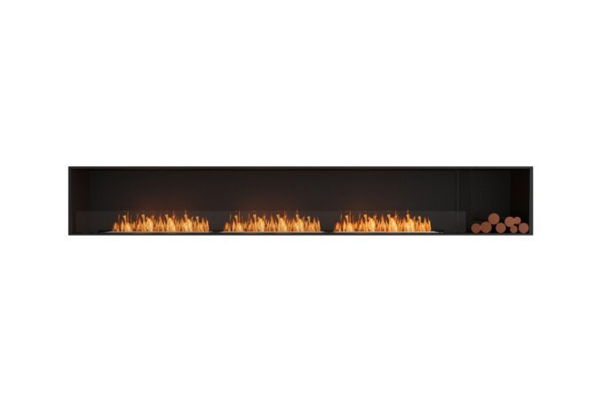 Flex 140SS.BXR Single Sided - Ethanol / Black / Installed View by EcoSmart Fire