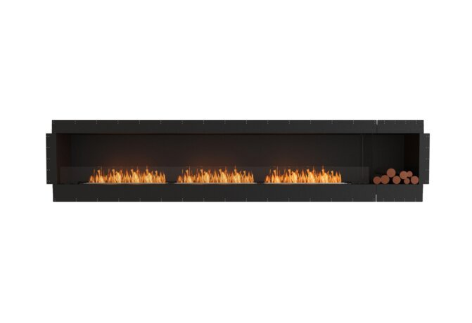 Flex 140SS.BXR Single Sided - Ethanol / Black / Uninstalled View by EcoSmart Fire