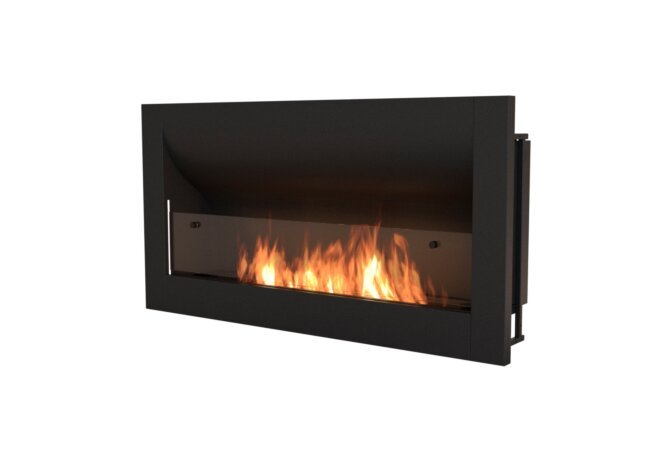 Firebox 1400CV Curved Fireplace - Ethanol / Black by EcoSmart Fire