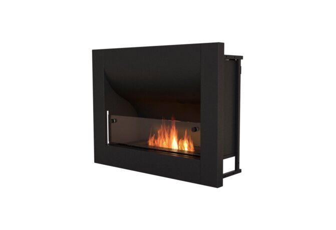 Firebox 720CV Curved Fireplace - Ethanol / Black by EcoSmart Fire