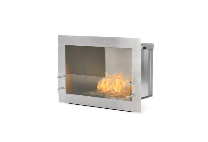 Firebox 800SS Fireplace Insert - Ethanol / Stainless Steel by EcoSmart Fire
