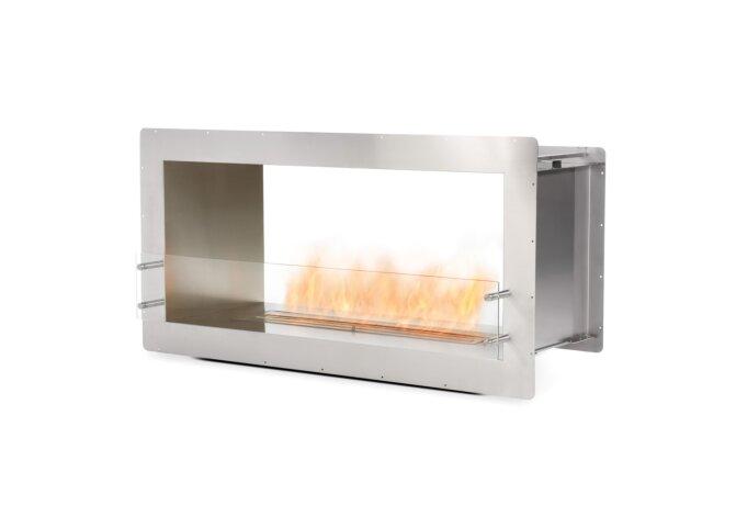 Firebox 1200DB Fireplace Insert - Ethanol / Stainless Steel by EcoSmart Fire