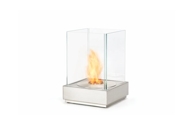 Mini T Fire Pit - Ethanol / Stainless Steel by EcoSmart Fire