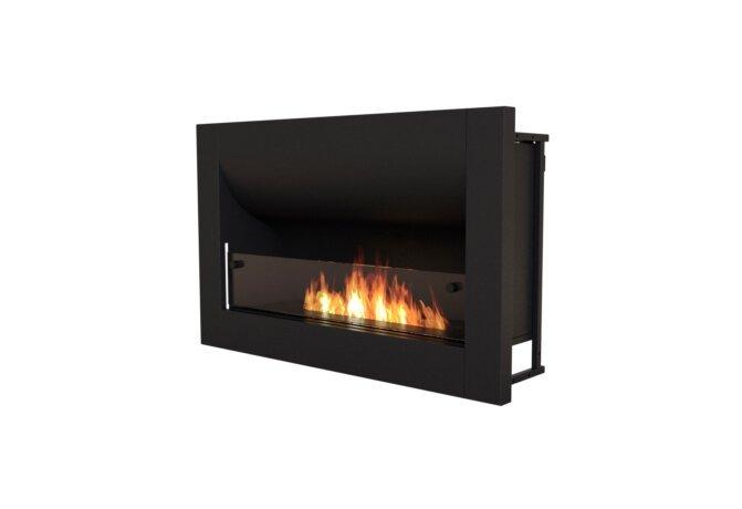 Firebox 920CV Curved Fireplace - Ethanol / Black by EcoSmart Fire