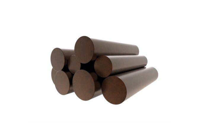 Log Set Copper Decorative Media - Copper by Blinde Design