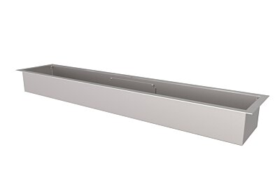 XL1200 Top Tray Fireplace Tray - Studio Image by EcoSmart Fire