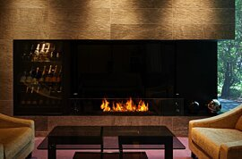 XL1200 Indoor Fireplace - In-Situ Image by EcoSmart Fire