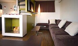 Chalet LaPlagne Residential Fireplaces Designer Fireplace Idea