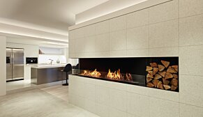 Flex 86LC.BXR Flex Fireplace - In-Situ Image by EcoSmart Fire