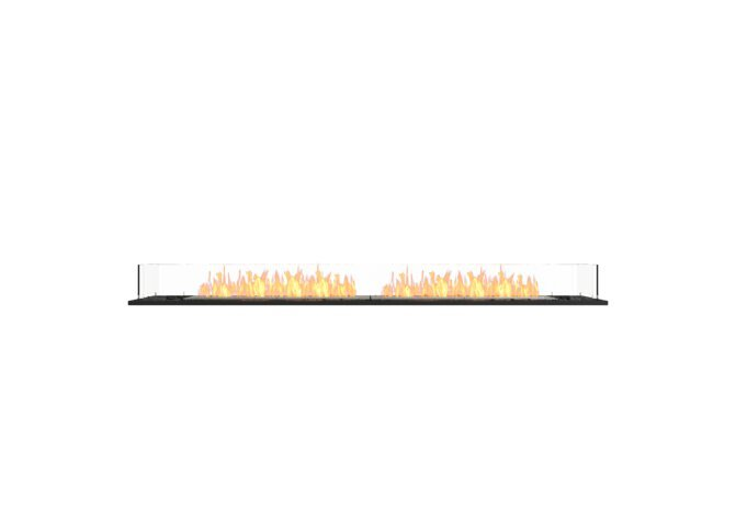 Flex 86BN Bench - Ethanol / Black / Installed View by EcoSmart Fire