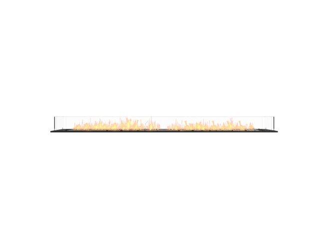 Flex 104BN Bench - Ethanol / Black / Installed View by EcoSmart Fire