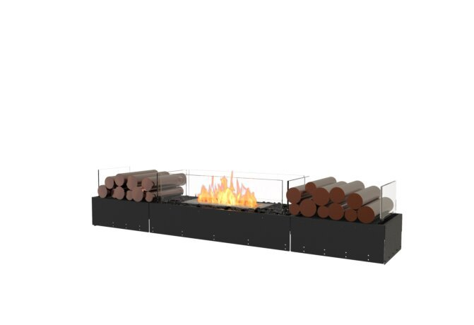 Flex 68BN.BX2 Bench - Ethanol / Black / Uninstalled View by EcoSmart Fire