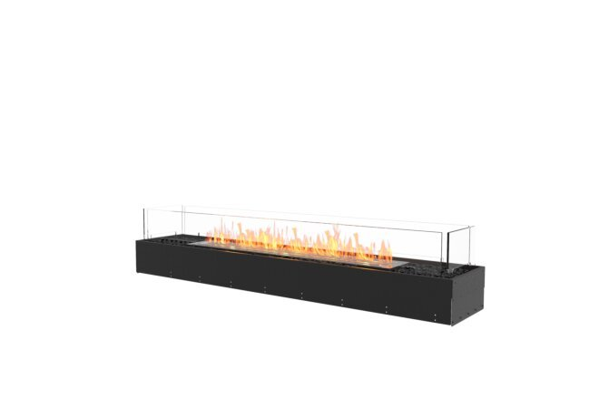 Flex 68BN Bench - Ethanol / Black / Uninstalled View by EcoSmart Fire