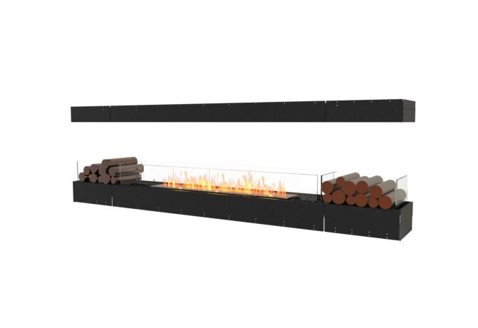 Flex 104IL.BX2 Island - Ethanol / Black / Uninstalled View by EcoSmart Fire