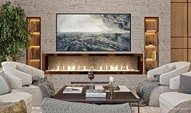 SoIncev Interiors Residential Fireplaces Ethanol Burner Idea