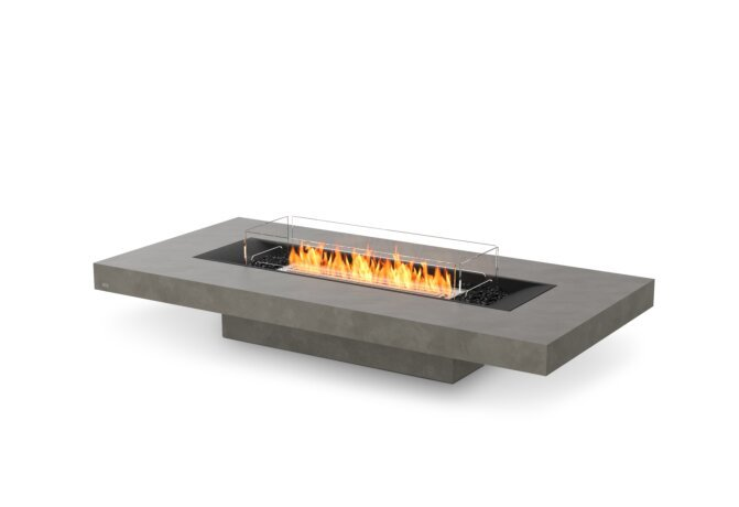 Gin 90 (Low) Fire Table - Ethanol / Natural / Optional Fire Screen by EcoSmart Fire
