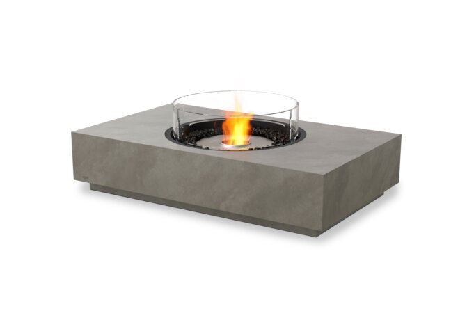 Martini 50 Fire Table - Ethanol / Natural / Optional Fire Screen by EcoSmart Fire